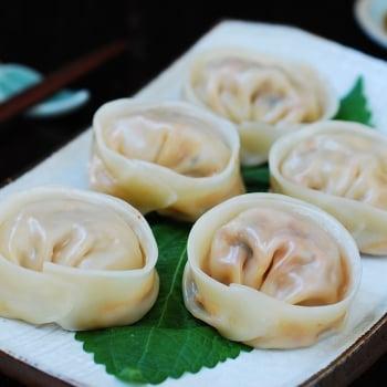 DSC 0153 350x350 - Kimchi Mandu (Kimchi Dumplings)