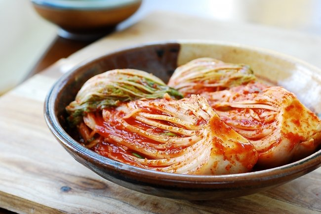 Traditional kimchi (Napa cabbage kimchi)