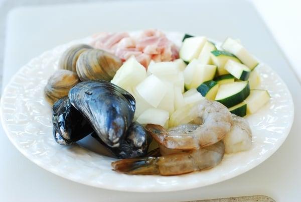 DSC 0060 600x402 - Haemul Sundubu Jjigae (Seafood Soft Tofu Stew)