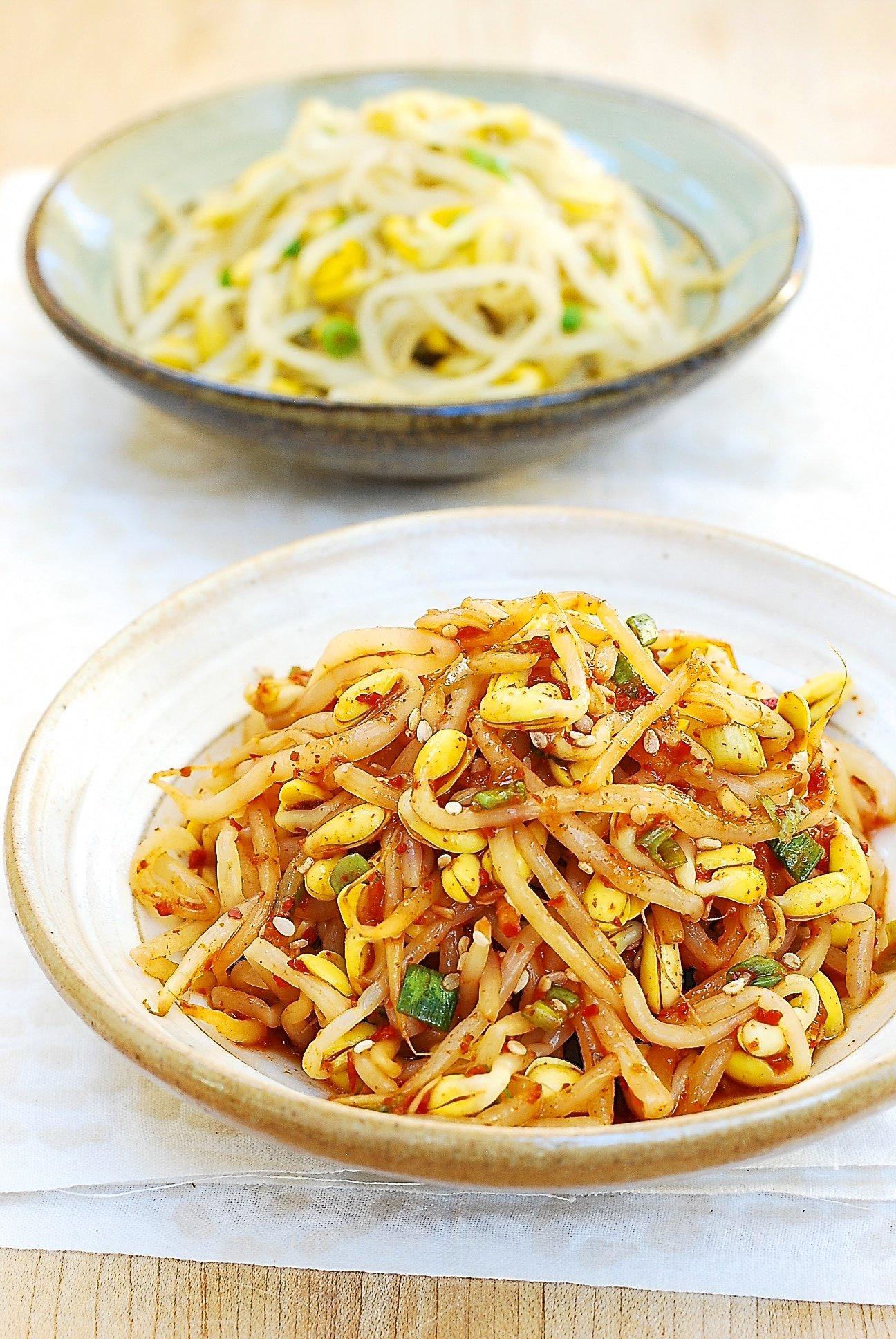 DSC 0079 - Kongnamul Muchim (Soybean Sprout Side Dish)