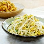 Soybean sprouts side dish recipe