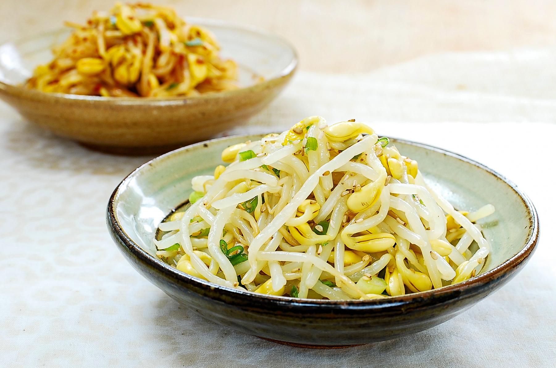 DSC 0081 1 - Kongnamul Muchim (Soybean Sprout Side Dish)