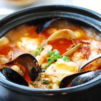 DSC 0106 350x350 - Haemul Sundubu Jjigae (Seafood Soft Tofu Stew)