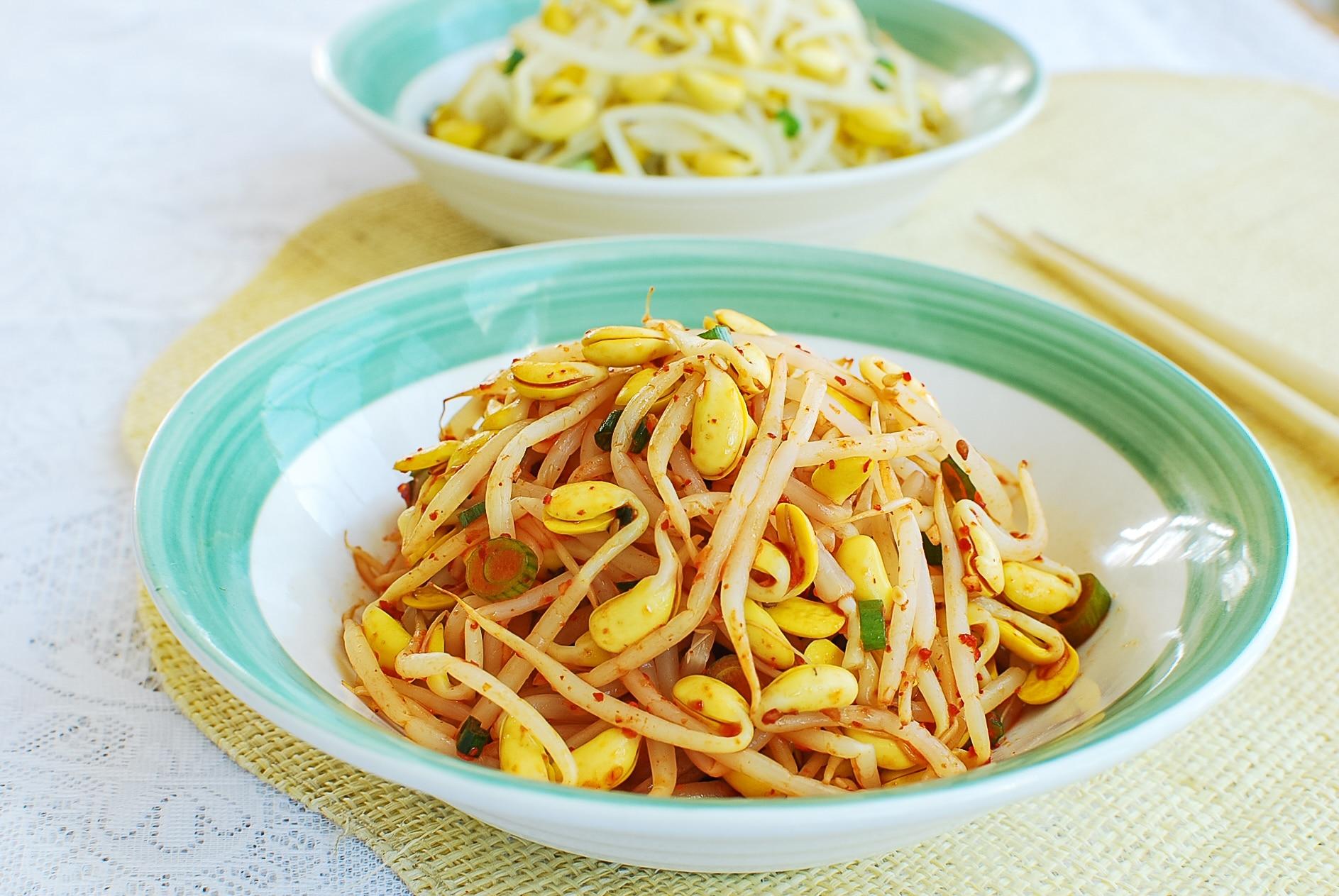DSC 2422 - Kongnamul Muchim (Soybean Sprout Side Dish)