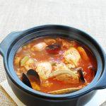Haemul Sundubu Jjigae (Seafood Soft Tofu Stew)