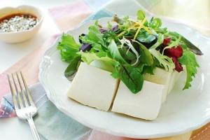 Tofu Salad recipe 300x200 - Dubu Salad (Korean Tofu Salad)