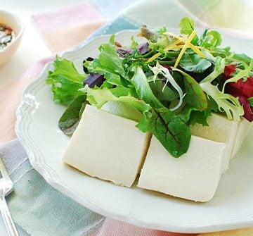 Tofu Salad recipe 360x335 - Dubu Salad (Korean Tofu Salad)