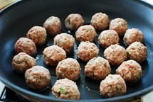 meatballs recipe 6 - Glazed Korean Meatballs (Wanja Jorim)
