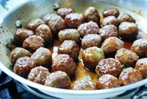 meatballs recipe 8 - Glazed Korean Meatballs (Wanja Jorim)