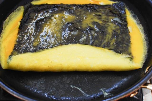 DSC 0233 640x428 - Gyeran Mari (Rolled Omelette) with Seaweed