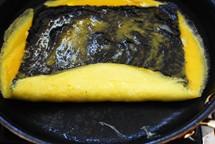 gyeran mari with gim recipe 5 - Gyeran Mari with Gim (Egg Roll with Dried Seaweed)