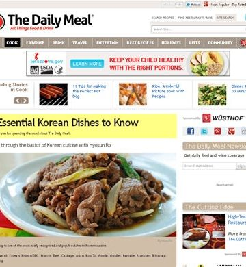 5 Korean dishes to know 360x390 - 5 Korean Dishes to Know - Interview with The Daily Meal
