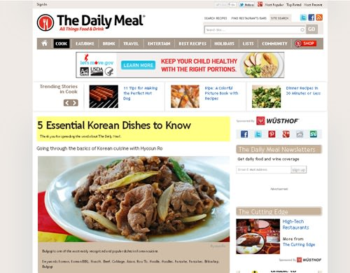 5 Korean dishes to know - 5 Korean Dishes to Know - Interview with The Daily Meal