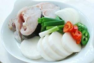 Daegu jorim (Korean braised cod fish)