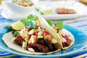 Galbi Taco (Korean-Style Taco with Beef Short Ribs)