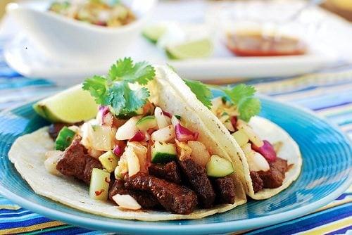 Galbi Taco (Korean-Style Taco with Beef Short Ribs)