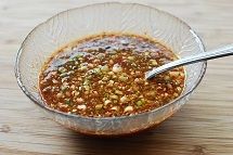 jaengban guksu 4 - Jaengban Guksu (Korean Cold Noodles and Vegetables)