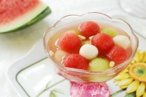 Watermelon Hwache 300x200 - Subak Hwachae (Korean Watermelon Punch)