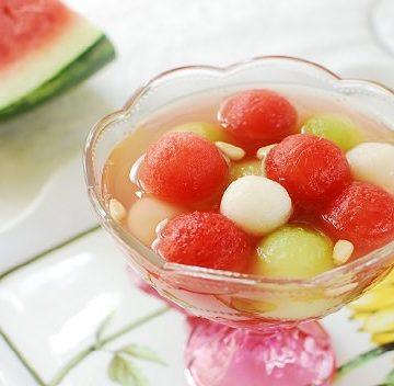 Watermelon Hwache 360x352 - Subak Hwachae (Korean  Watermelon Punch)