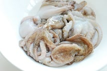 Baby octopus 1 - Jjukkumi Gui (Spicy Grilled Baby Octopus)