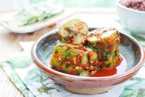 Oi Sobagi (Stuffed Cucumber Kimchi)
