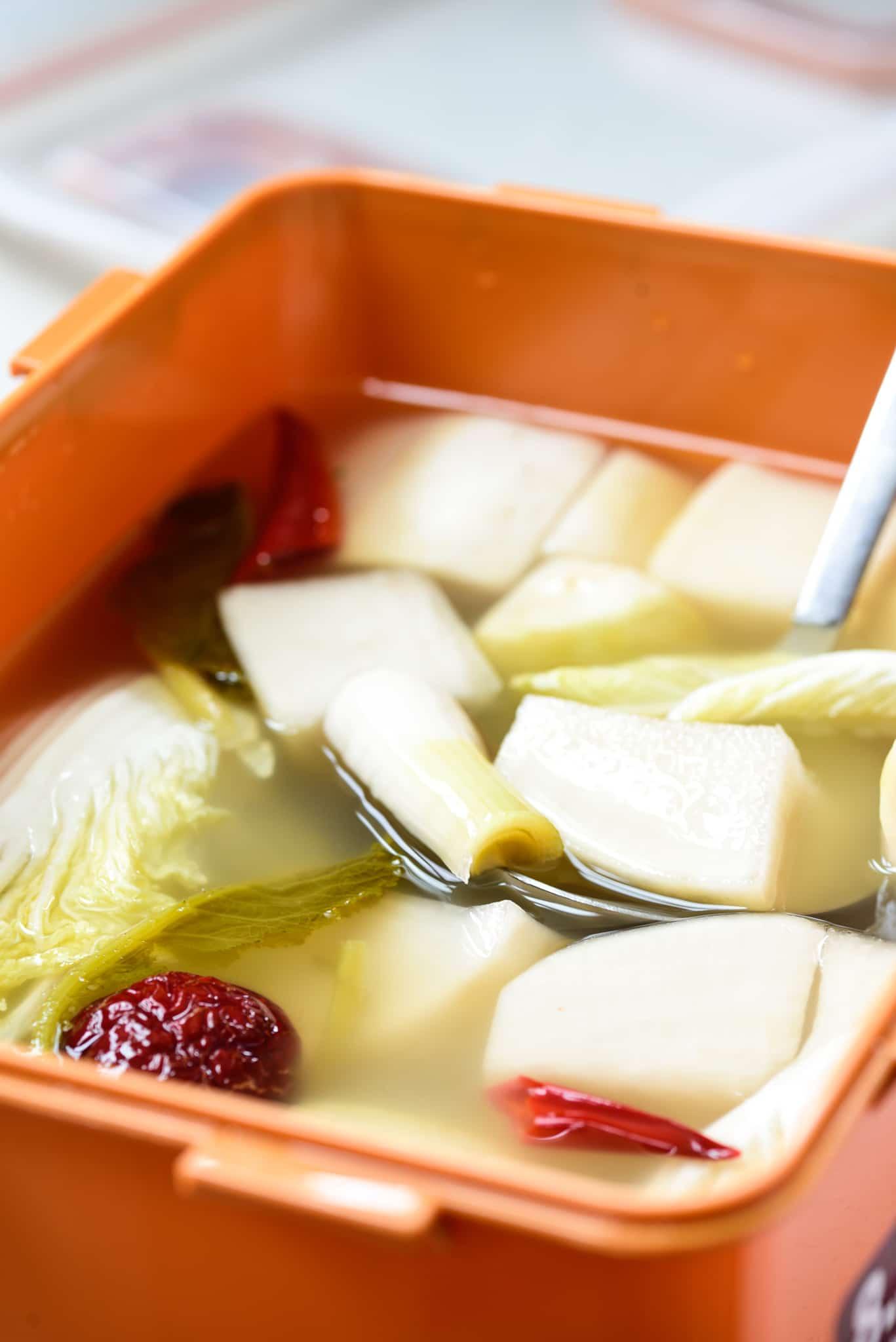 DSC3555 - Quick Dongchimi (Radish Water Kimchi)