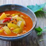 Hobak Gochujang Jjigae (Korean Spicy Zucchini Stew)