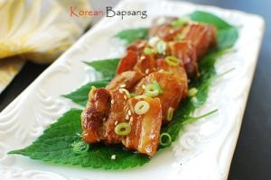 Slow cooked pork belly 300x200 - Slow Cooked Pork Belly with Bulgogi Sauce and Giveaway