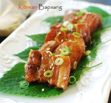 Slow cooked pork belly 360x334 - Slow Cooked Pork Belly with Bulgogi Sauce and Giveaway