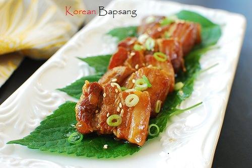 Slow cooked pork belly - Slow Cooked Pork Belly with Bulgogi Sauce and Giveaway