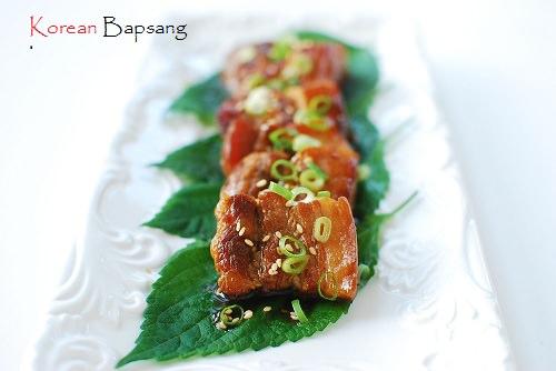 Slow cooked pork belly1 - Slow Cooked Pork Belly with Bulgogi Sauce and Giveaway