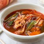 Spicy Soup with Leftover Turkey