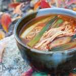 Dakgaejang (Spicy Soup with Chicken/Turkey Leftovers)