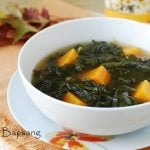 Kale Doenjang Guk (Korean Soybean Paste Soup with Kale)