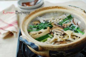 Beoseot Jeongol (Mushroom Hot Pot )