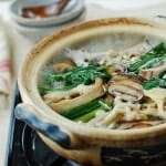 Beoseot jeongol photo 150x150 - Kongguksu (Chilled Soy Milk Noodle Soup)