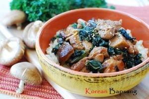 Dak Kale Bokkeum (Stir-fried Chicken and Kale)