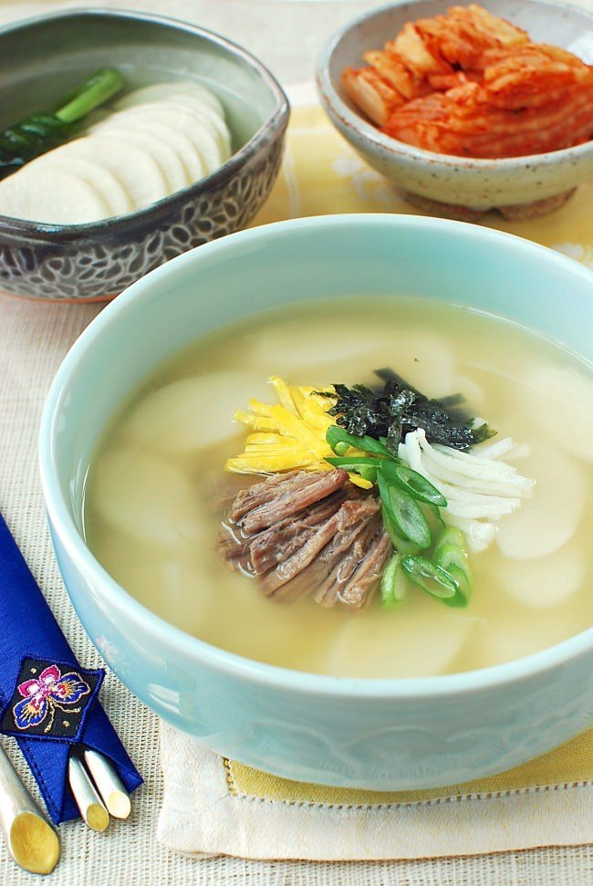 rice cake soup recipe