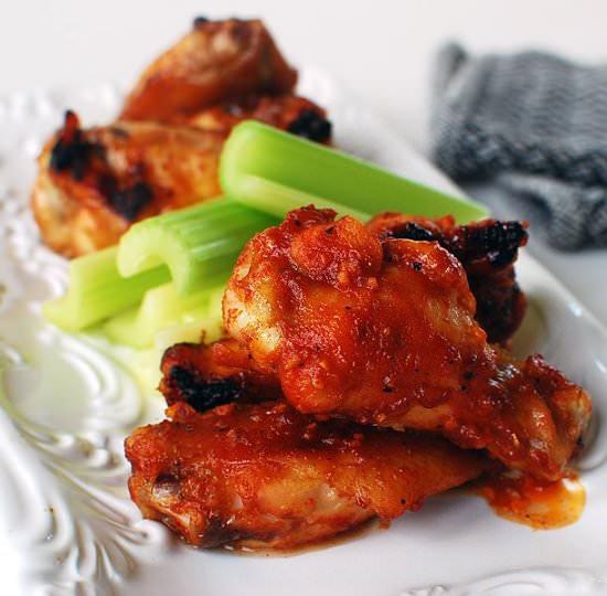 Korean flavored Chinken Wings - Korean Food for Super Bowl Sunday