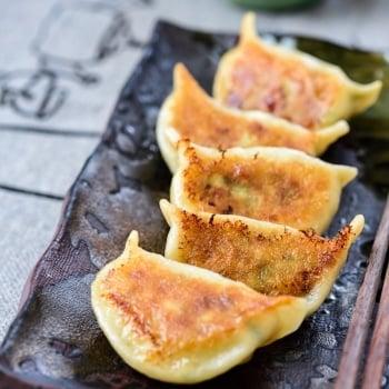 DSC6659 2 350x350 - Shrimp Dumplings (Saeu Mandu)