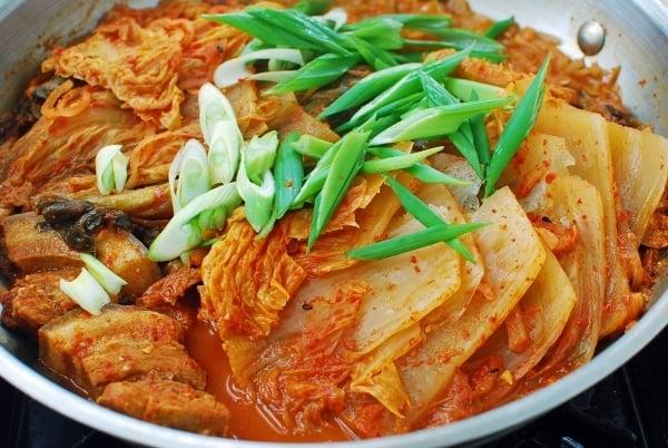 DSC 0688 600x402 - Kimchi Jjim (Braised Kimchi)