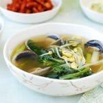 DSC 1843 150x150 1 - Sigeumchi Doenjang Guk (Spinach Doenjang Soup)