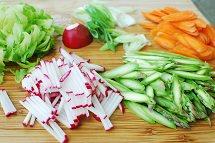 Spring Bibimbap with Tuna recipe 1 - Spring Bibimbap with Tuna