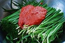Buchu kimchi 3 - Buchu Kimchi (Garlic Chives Kimchi)