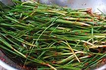Buchu kimchi 4 - Buchu Kimchi (Garlic Chives Kimchi)