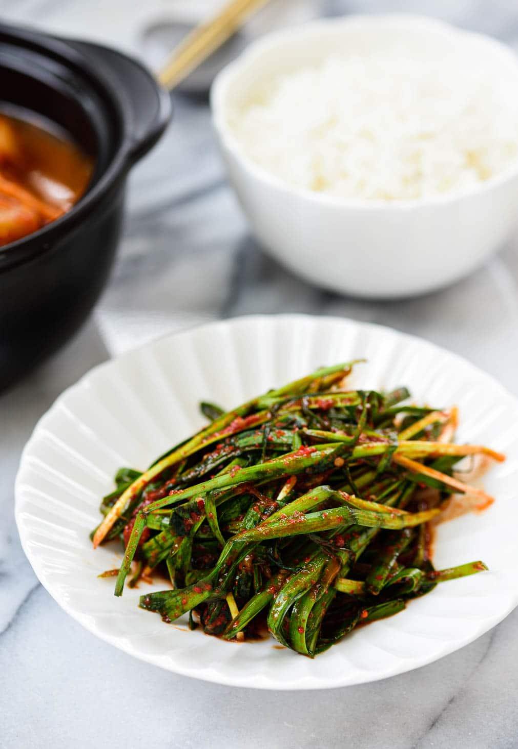 DSC7260 3 - Buchu Kimchi (Garlic Chives Kimchi)