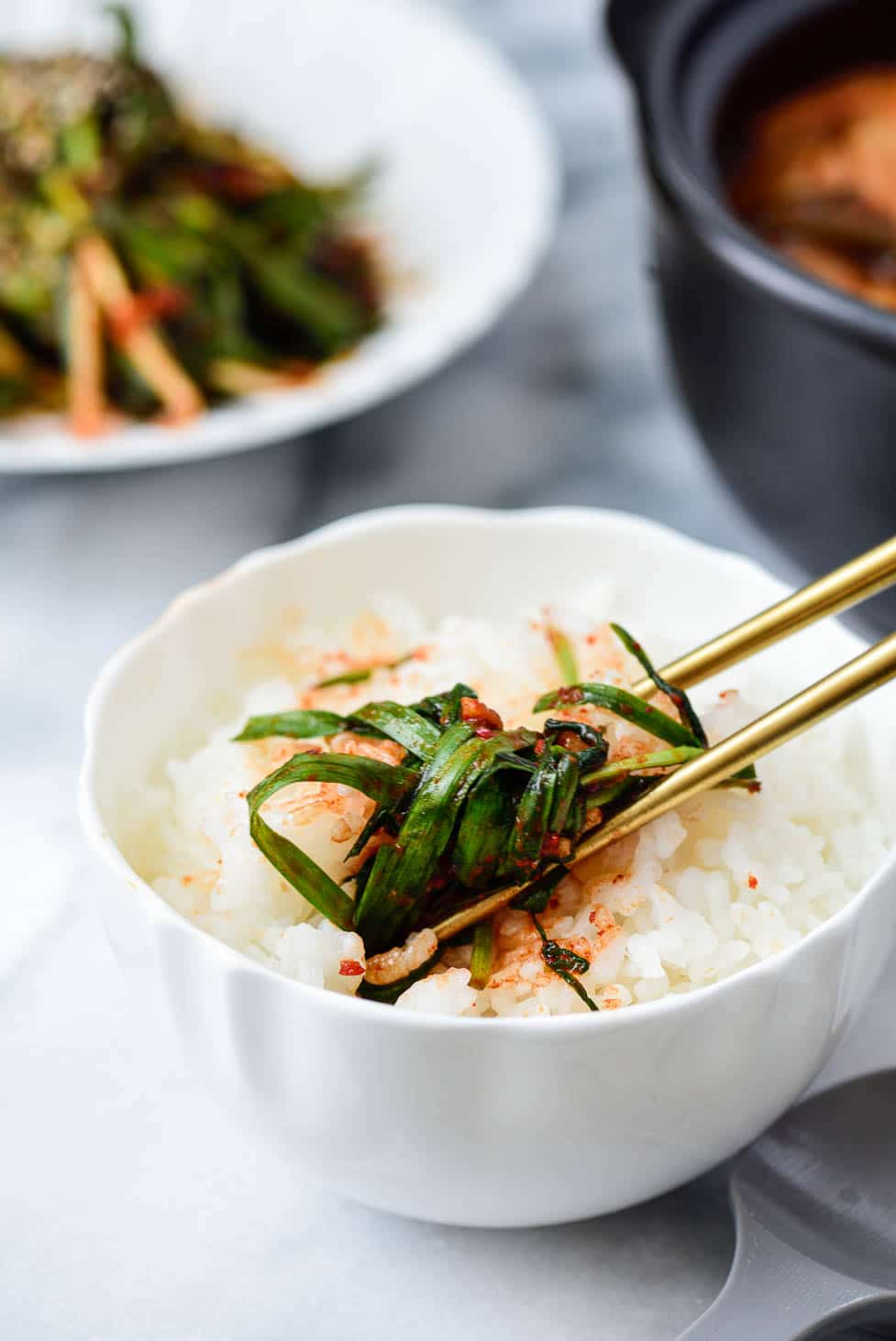 DSC7311 01 3 - Buchu Kimchi (Garlic Chives Kimchi)