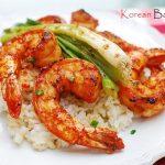 Gochujang Saewu Gui (Spicy Grilled Shrimp Skewers)