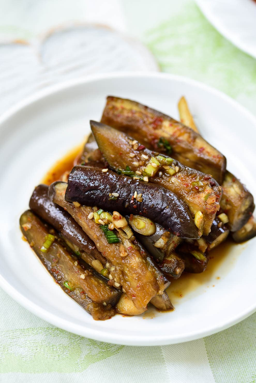 DSC1374 3 - Gaji Namul (Steamed Eggplant Side Dish)
