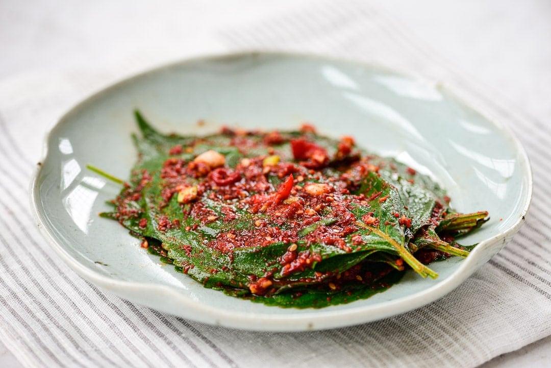 DSC1706 3 - Kkaennip Kimchi (Perilla Kimchi)